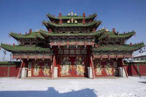 Mongolia Ulan Bator Il Palazzo d'inverno