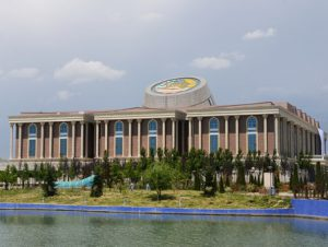 Tagikistan Dushanbe Il Museo Nazionale
