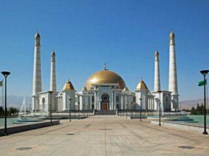 Turkmenistan Ashgabat Moschea Turkmenbashi Ruhy