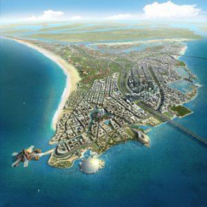 abu dhabi Emirati Arabi Uniti L'isola Sa'diyyat