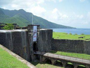 Guadalupa Basse-Terre Fort Delgres di Basse-Terre