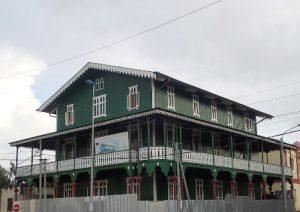 Guinea Equatoriale Malabo La Casa Verde di Malabo