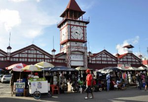 Guyana Georgetown Il Mercato Stabroek di Georgetown