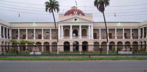 Guyana Georgetown Il Palazzo del Parlamento del Guyana