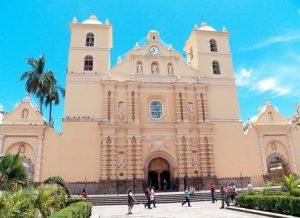 Honduras Tegucigalpa La Cattedrale dell'Arcangelo San Michele di Tegucigalpa