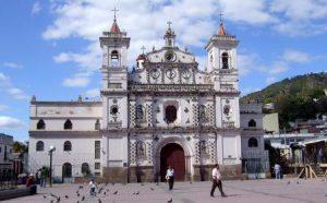 Honduras Tegucigalpa La Chiesa Virgen de los Dolores di Tegucigalpa