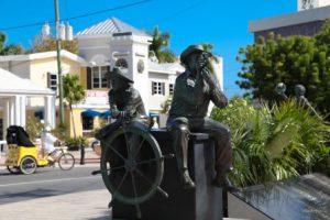 Isole Cayman George Town La Piazza degli Eroi di George Town