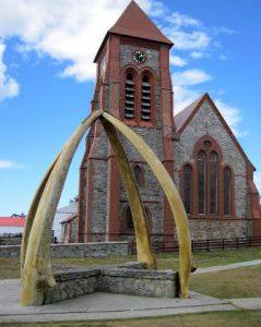 Isole Falkland Port Stanley La Cattedrale di Cristo di Port Stanley