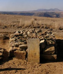 Lesotho Maseru Monumento Nazionale Thaba-Bosiu