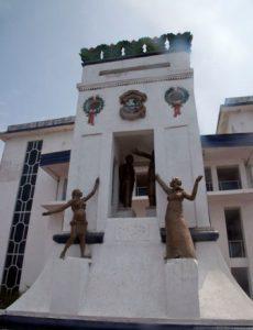 Liberia Monrovia Il Padiglione Centenario di Monrovia