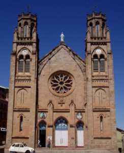 Madagascar Antananarivo Cathedrale Catholique d Andohalo