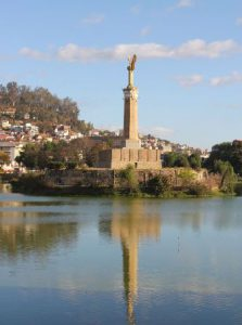 Madagascar Antananarivo Il Monumento dei Morti dell'Antananarivo