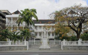 Mauritius Port Louis Il Palazzo del Governo di Port Louis