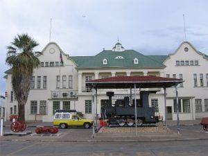 Namibia Windhoek Il Museo Trans-Namib Railroad di Windhoek