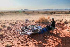 Namibia Windhoek La Riserva Naturale di Namib Rand