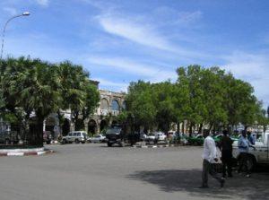 Repubblica di Gibuti Gibuti Place Menelik di Gibuti