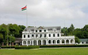 Suriname Paramaribo Il Palazzo Presidenziale di Paramaribo