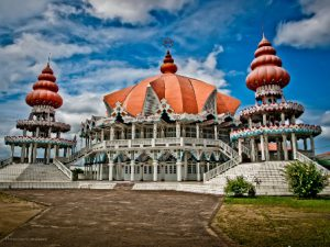 Suriname Paramaribo Il Tempio Hindu Arya Dewaker di Paramaribo