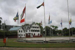 Suriname Paramaribo La Piazza dell'Indipendenza di Paramaribo