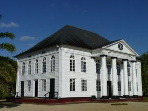 Suriname Paramaribo La Sinagoga Neveh Shalom di Paramaribo