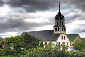 Isole Faroe Tórshavn La Cattedrale di Tórshavn
