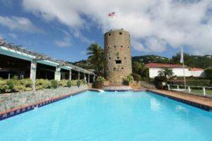 Isole Vergini Statunitensi Charlotte Amali Il Castello Blackbeard di Charlotte Amalie