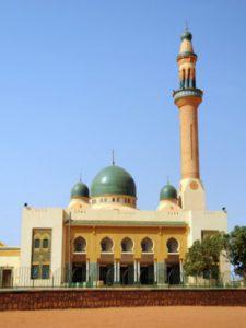 Niger Niamey La Grande Moschea di Niamey