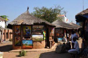 Nigeria Abuja Il Quartiere dell'Artigianato e dell'Arte di Abuja