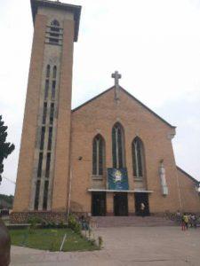 Repubblica Democratica Kinshasa La Cattedrale Notre-Dame di Kinshasa