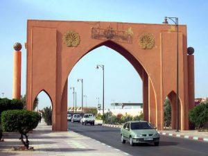 Sahara Occidentale El Aaiún L'Arco Monumentale di El Aaiún