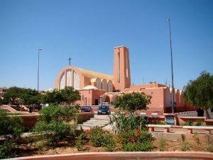Sahara Occidentale El Aaiún La Cattedrale di San Francesco d'Assisi di El Aaiún