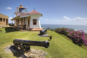 Trinidad e Tobago Port of Spain La Fortezza Re George di Port of Spain