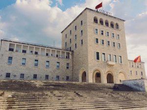 Albania Tirana Il Museo delle Scienze Naturali di Tirana