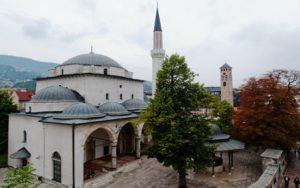 bosnia-ed-erzegovina-sarajevo-la-moschea-gazi-husrev-beg-di-sarajevo