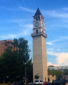 albania tirana la-torre-dellorologio-di-tirana