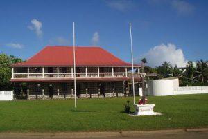 Wallis e Futuna Mata-Utu Il Palazzo Reale di Mata-Utu