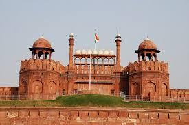 india-nuova-delhi-forte-rosso