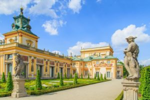 polonia-varsavia-il-palazzo-di-wilanow-di-varsavia