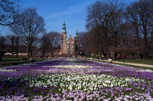 danimarca-copenaghen-i-giardini-castello-rosenborg-di-copenaghen