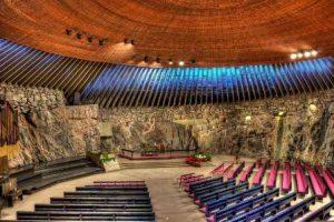 finlandia-helsinki-la-chiesa-temppeliaukion-di-helsinki