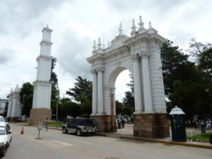 Bolivia Sucre Il Parco Simon Bolivar